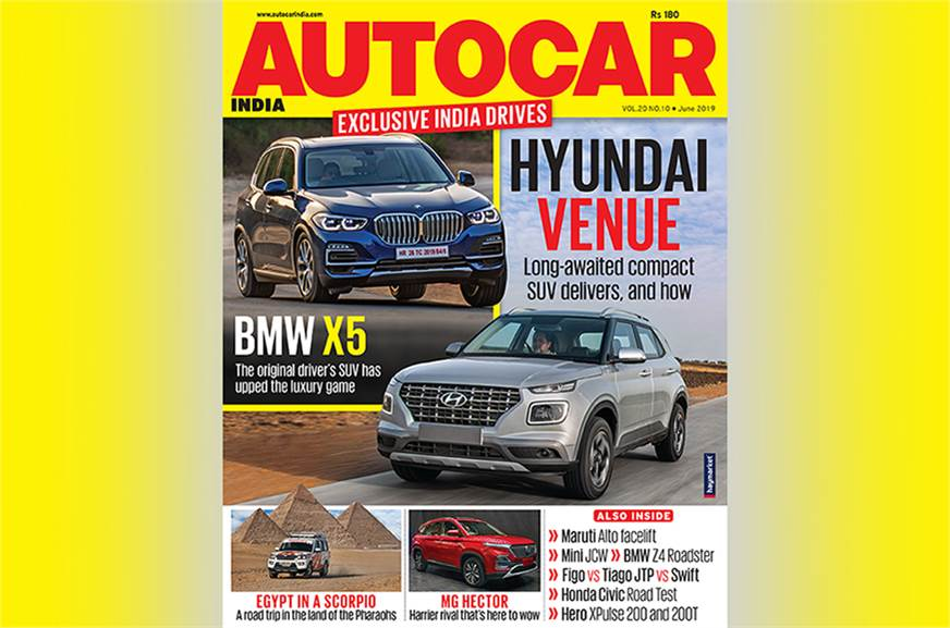 Autocar India June 2019 Magazine Issue Out On Stands Now And