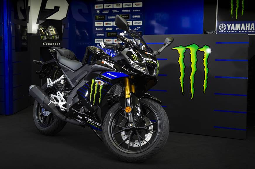 2019 Yamaha Yzf R15 V3 0 To Get Monster Energy Motogp Colours Within
