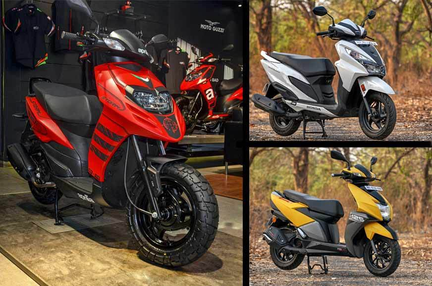Enjoyable Aprilia Storm 125 Vs Rivals Price Specifications Caraccident5 Cool Chair Designs And Ideas Caraccident5Info