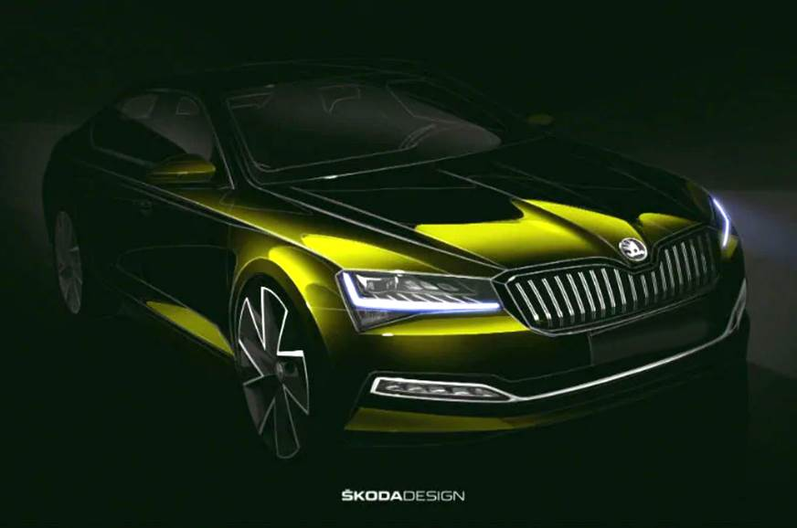 2020 Skoda Octavia To Debut At 2019 Frankfurt Motor Show Autocar India