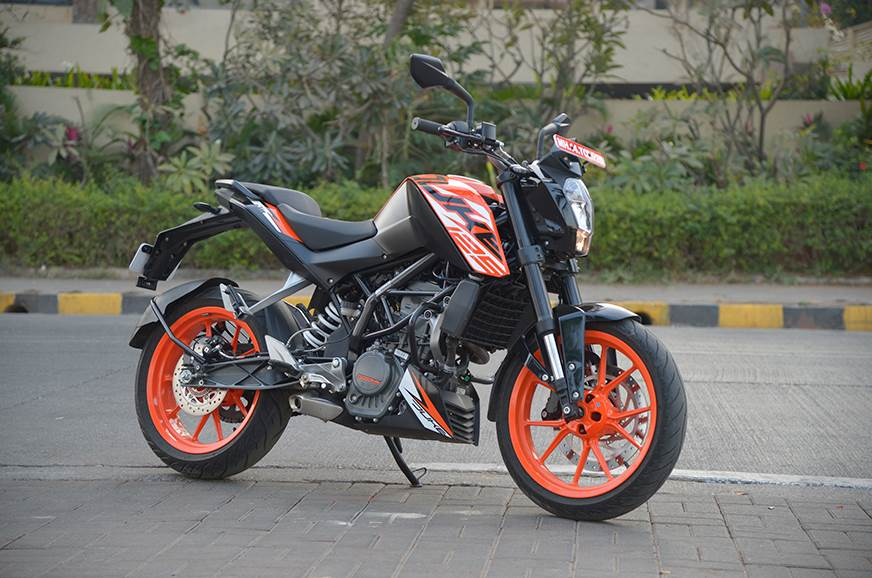 ktm 125 duke price hiked again now costs rs lakh autocar india. Black Bedroom Furniture Sets. Home Design Ideas