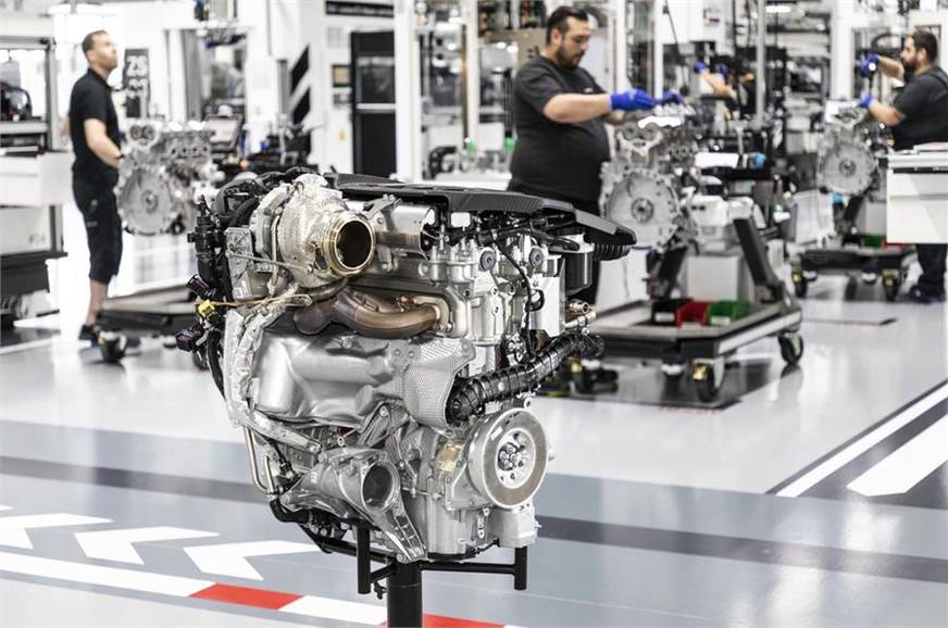 Mercedes-AMG's 421hp engine is the most powerful four