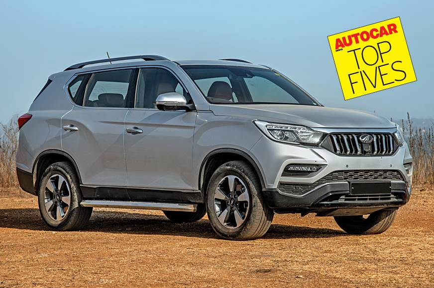 Best Diesel Suv >> Best Rugged 7 Seat Diesel Automatic Suvs Under Rs 35 Lakh Autocar