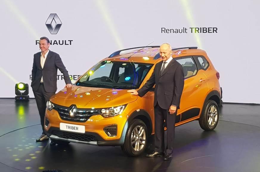 Renault Triber Makes Global Debut In New Delhi Triber