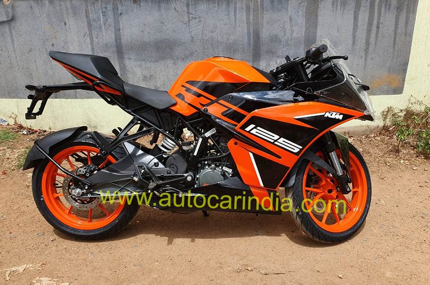 Ktm Rc 125 Reaches Dealerships Deliveries Begin Autocar India