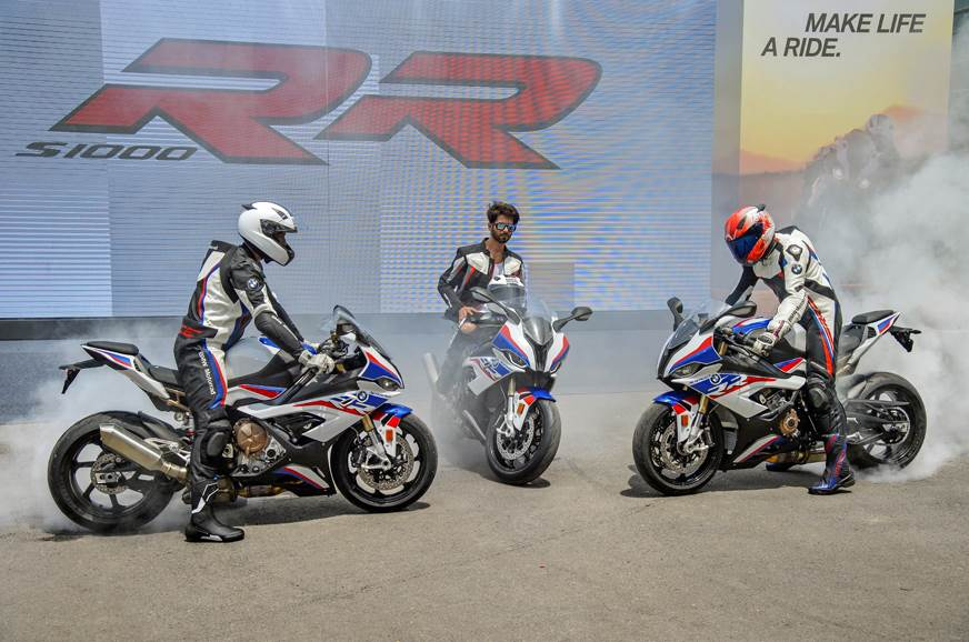 2019 bmw s1000rr price starts at rs 1850 lakh  autocar india