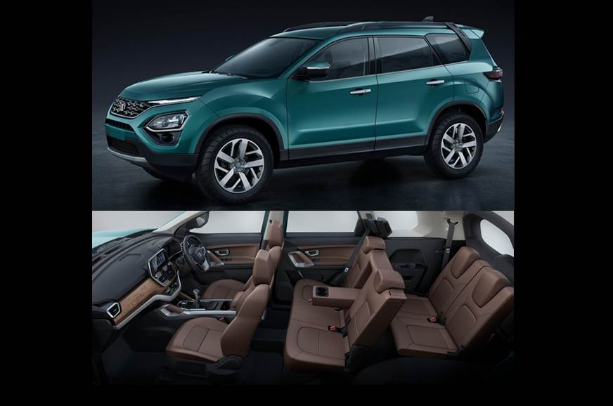 Best 7 Seater Suv 2020.7 Seat Tata Harrier Will Replace Hexa In Early 2020
