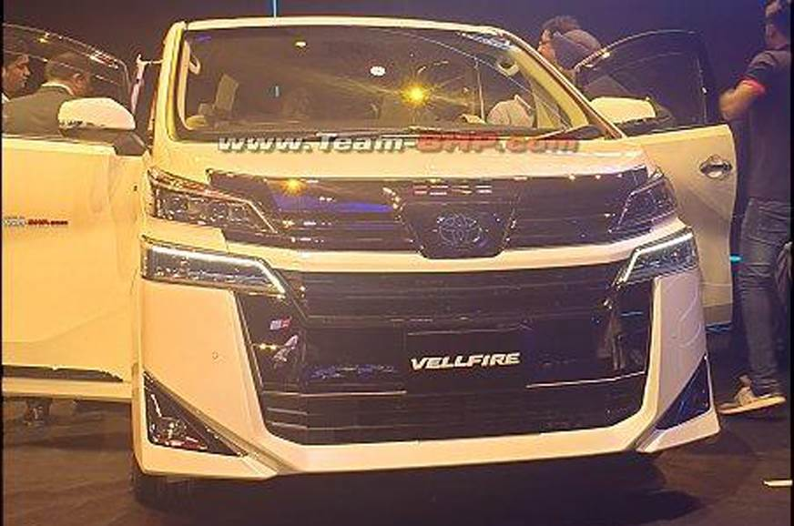 Toyota Vellfire India launch in October 2019 - Autocar India