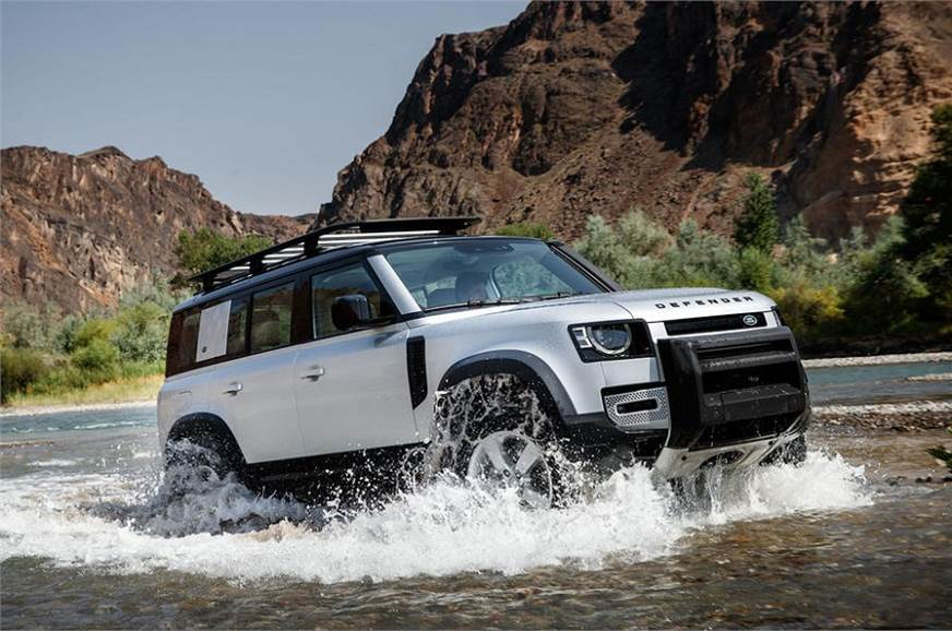 2020 Land Rover Discovery Is Built On The New Architecture >> India Bound New Land Rover Defender Revealed Autocar India