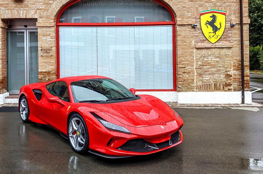 Ferrari F8 Tributo Mid Engine V8 Supercar To Be Priced From