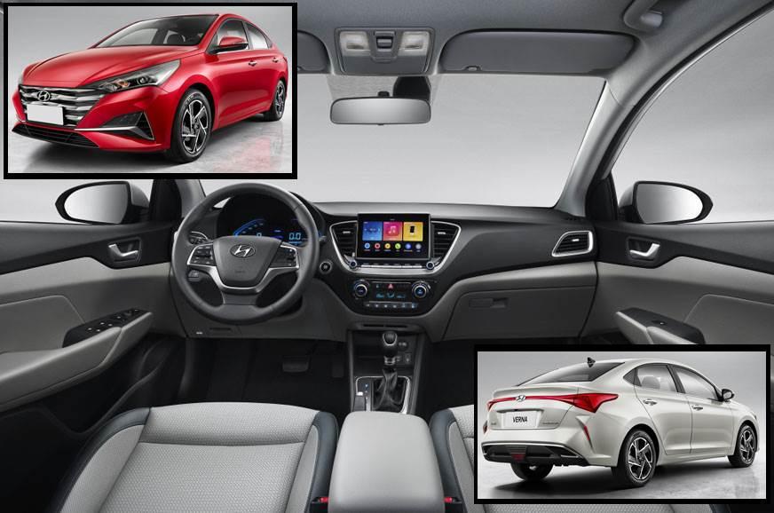 Hyundai Verna facelift interior revealed - Autocar India