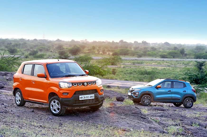 Cars Com Compare >> S Presso Vs Kwid Comparison Maruti S Mini Suv Takes On