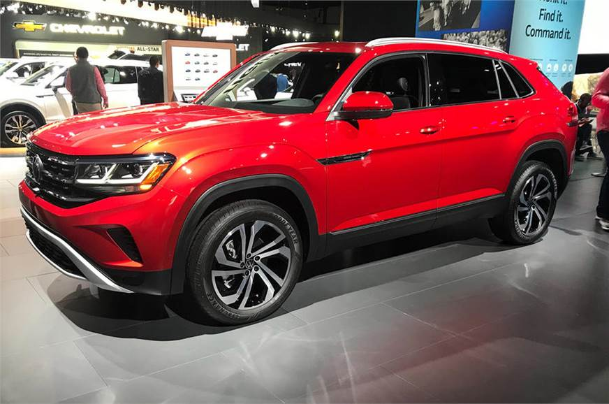 Volkswagen Reveals Atlas Cross Sport Suv At 2019 La Auto