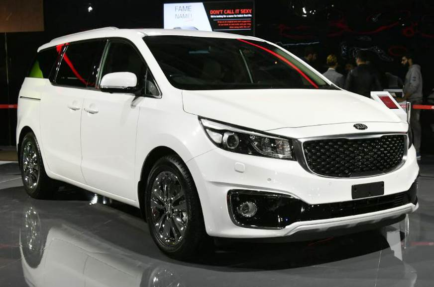 India Spec Kia Carnival Mpv To Get Multiple Seating Configurations