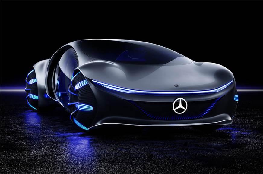 Mercedes Vision Avtr Concept Debuts In Las Vegas Autocar India