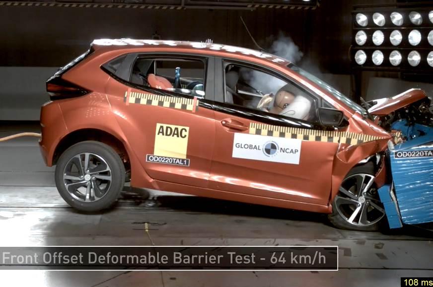 Image result for Tata Altroz Gets 5 Out of 5 Stars in Global Ncap Crash Test