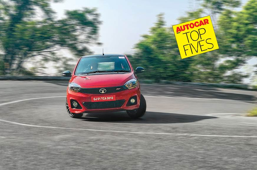 Most Fun To Drive Small Cars Under Rs  Lakh In India