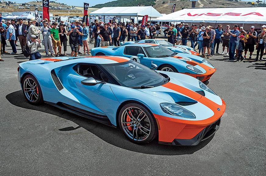 Ford Gt Heritage Edition A Close Look