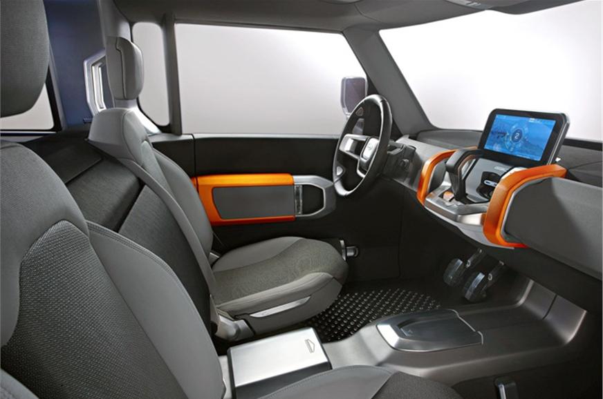 Land Rover DC100 concept  Autocar India