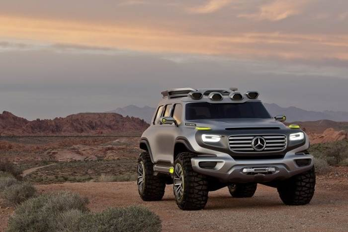 mercedes-benz ener-g-force concept - autocar india