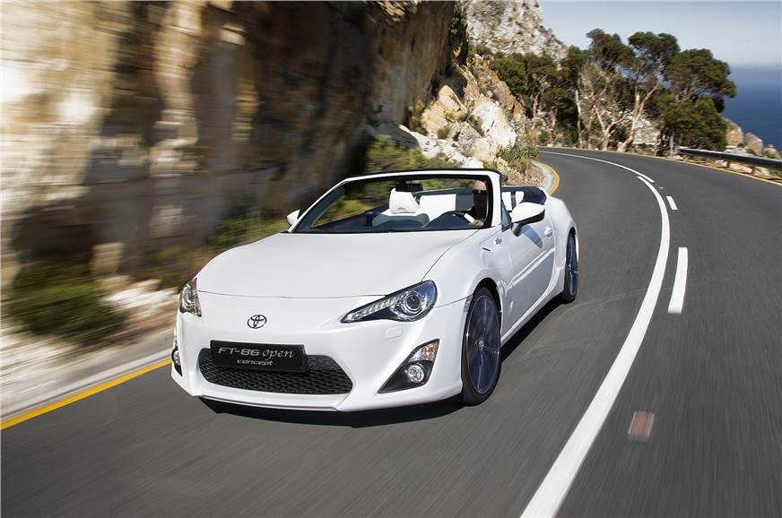 Toyota Ft 86 Open Concept Photo Gallery Autocar India