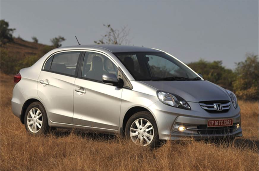 The New Honda Amaze Comes With A 1 2 Litre Petrol And 5 Sel