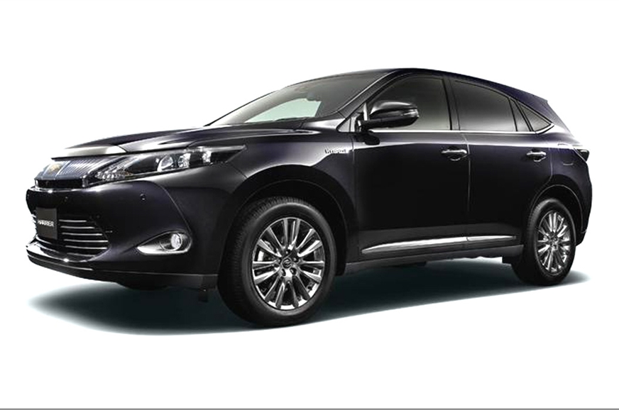 New Toyota Harrier Suv Photo Gallery Autocar India