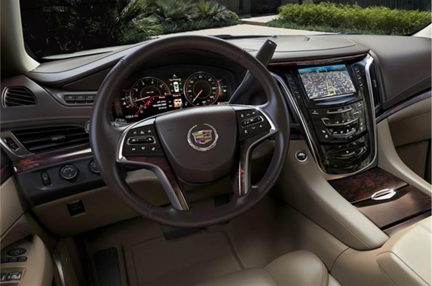 New Cadillac Escalade Suv Photo Gallery Autocar India