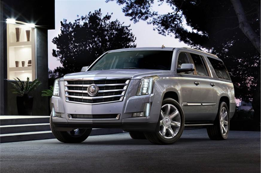 New Cadillac Escalade Suv Photo Gallery Autocar India