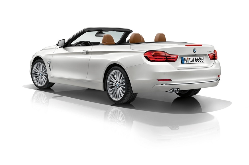 New BMW 4 Series Convertible Photo Gallery