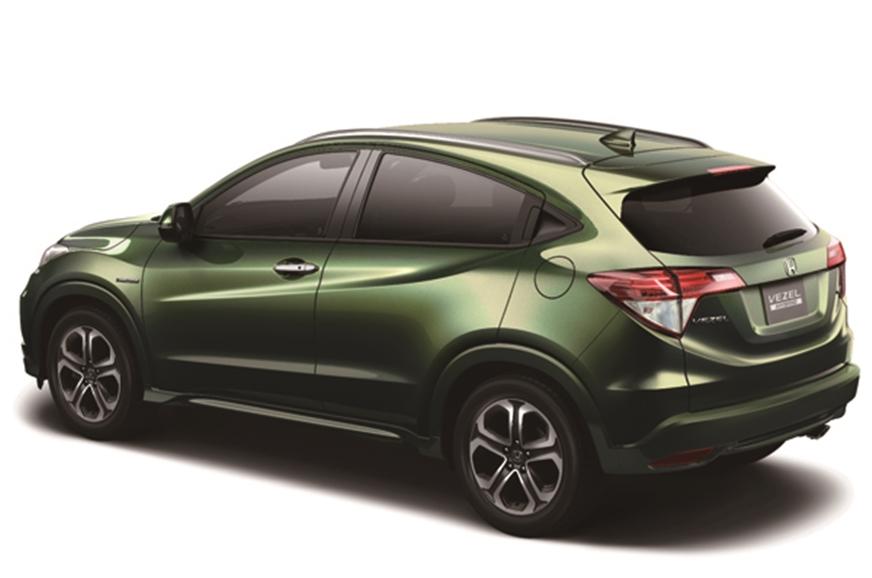 New Honda Vezel Compact Suv Photo Gallery Autocar India