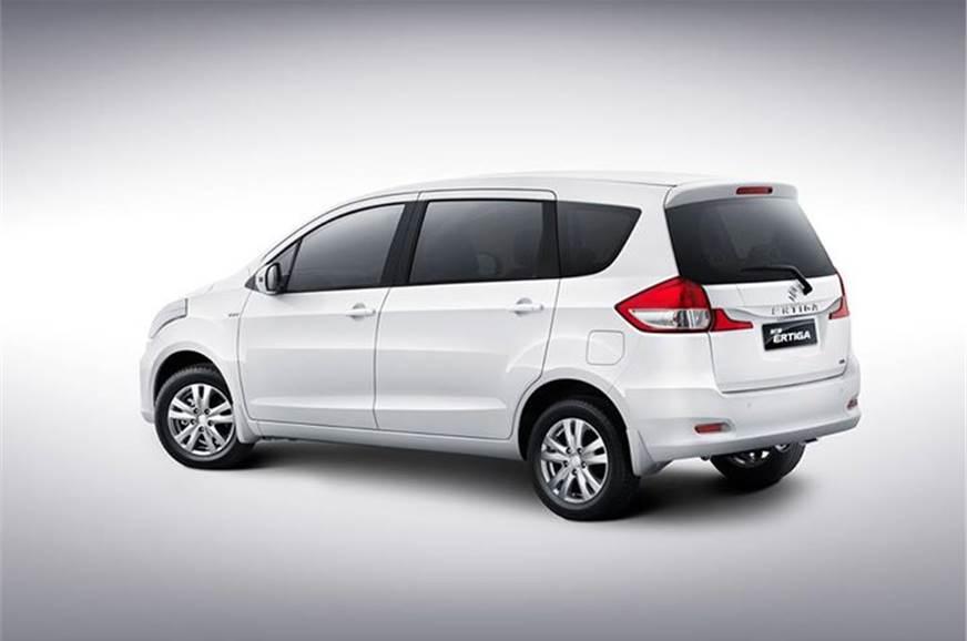 Maruti Ertiga Facelift Photo Gallery Autocar India