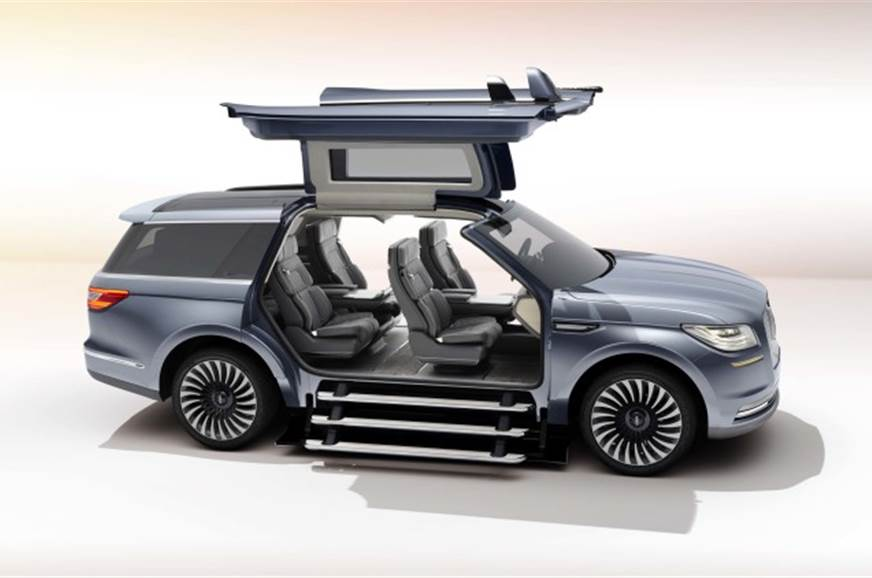 Lincoln Navigator Suv Concept Photo Gallery Autocar India