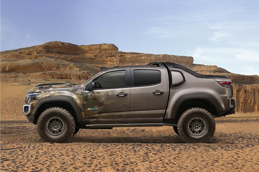 Chevrolet Colorado Zh2 Photo Gallery Autocar India