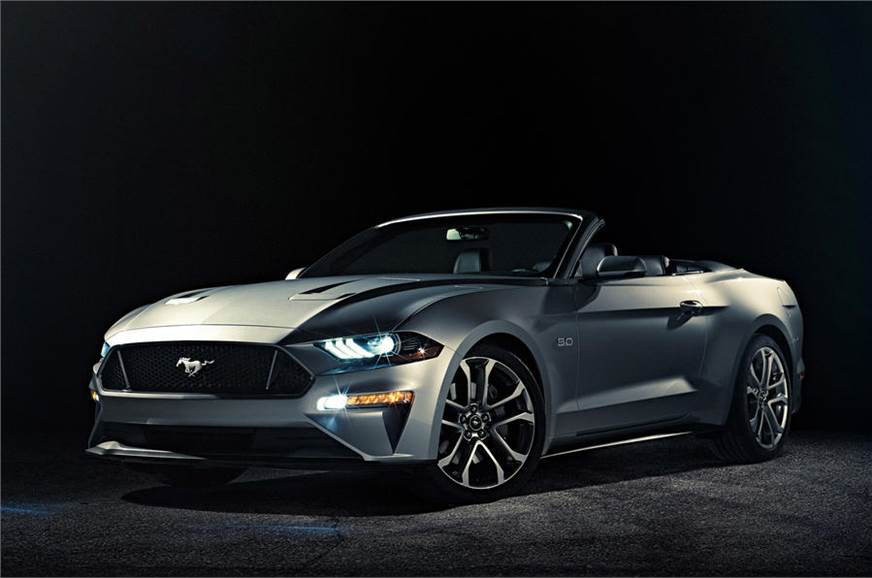 2018 Ford Mustang Convertible Images Autocar India Autocar India