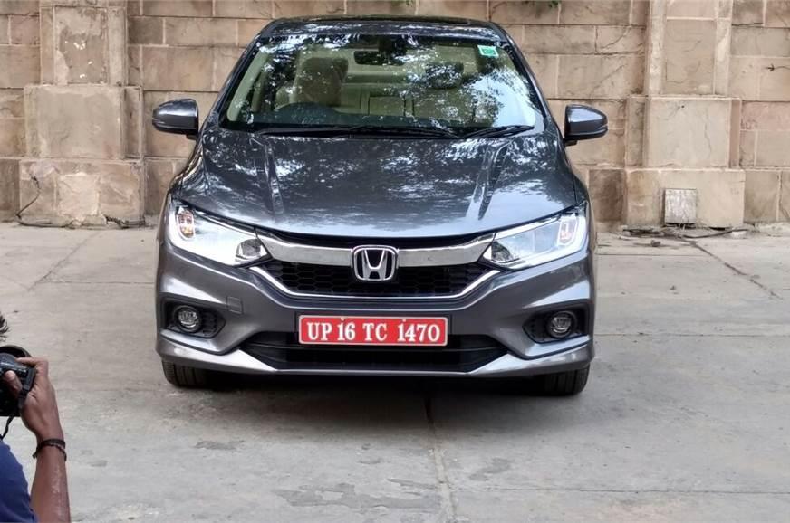 New Honda City Facelift Images Details Price Variants Autocar