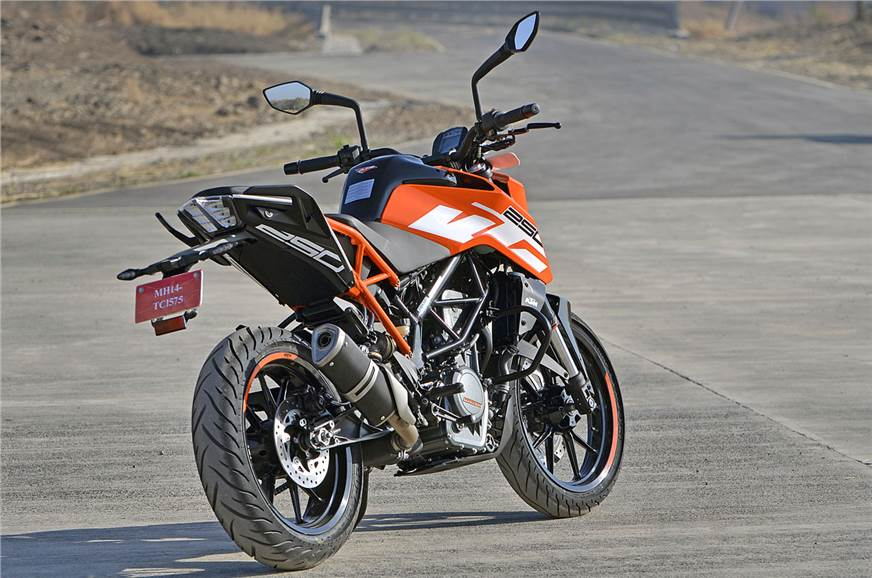 2017 Ktm Duke 250 Photos And Details Autocar India