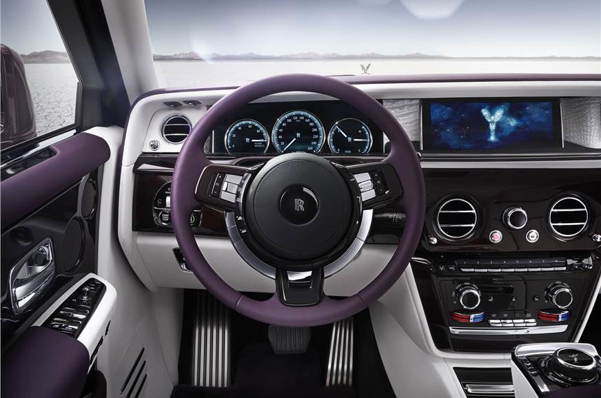 all new rolls-royce phantom interior and exterior images; engine