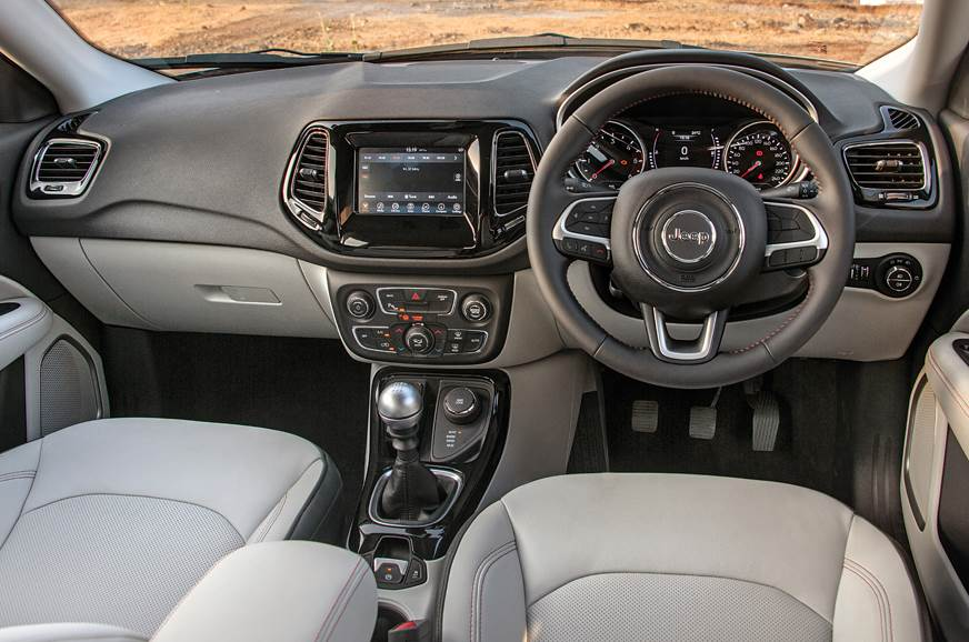 2017 Jeep Compass Images Interior Details Autocar India