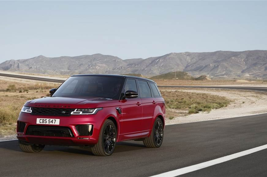2018 Range Rover Sport Facelift Exterior And Interior Images Equipment Features
