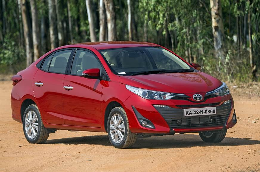 Toyota Yaris Sedan India Details Interior And Exterior Images And