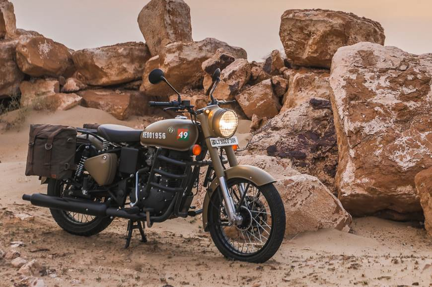 2018 Royal Enfield Classic Signals 350 Abs Image Gallery Autocar India
