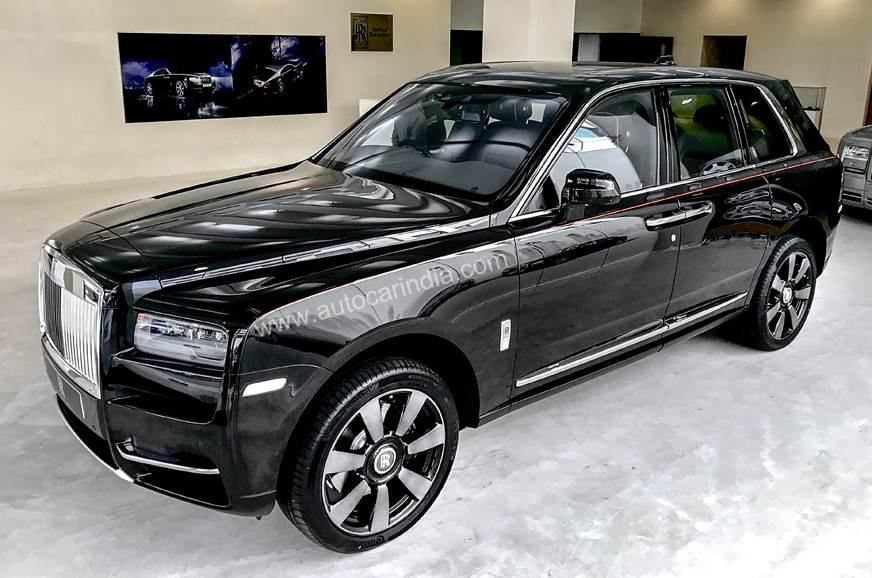At Rs 6 95 Crore The Rolls Royce Cullinan Is Most Expensive Suv On In India