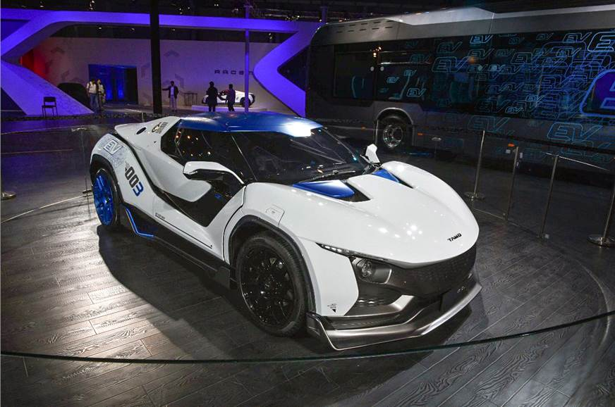 The Unique Racemo Wowed At 2017 Geneva Motor Show And It S On Display Auto Expo 2018 Too Small Just Right
