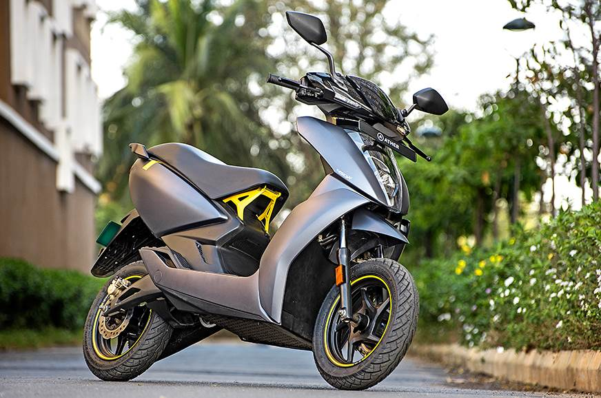 Ather 450X first ride, review | Autocar India