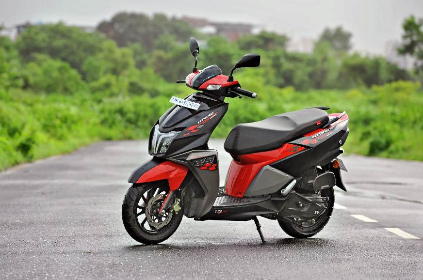 2020 TVS Ntorq 125 BS6 Race Edition review, test ride - Autocar India