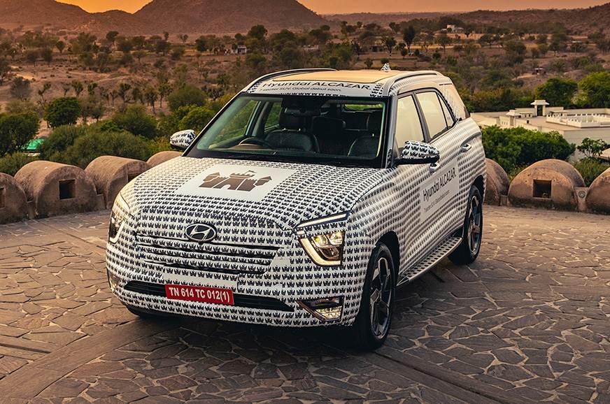 Hyundai Alcazar review - Alcazar petrol prototype review - Autocar India
