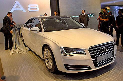 Audi Launches A8 L W12 Quattro Autocar India