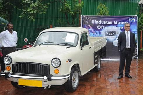 Hm launches ambassador pickup autocar india for H and r auto motors