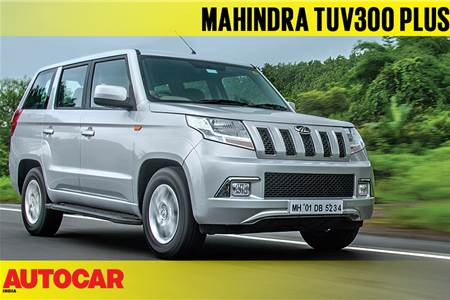 Mahindra TUV300 Plus P6 Price, Images, Reviews and Specs
